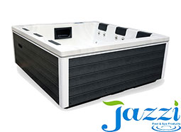 JAZZI pool provides you with a variety of spa accessories